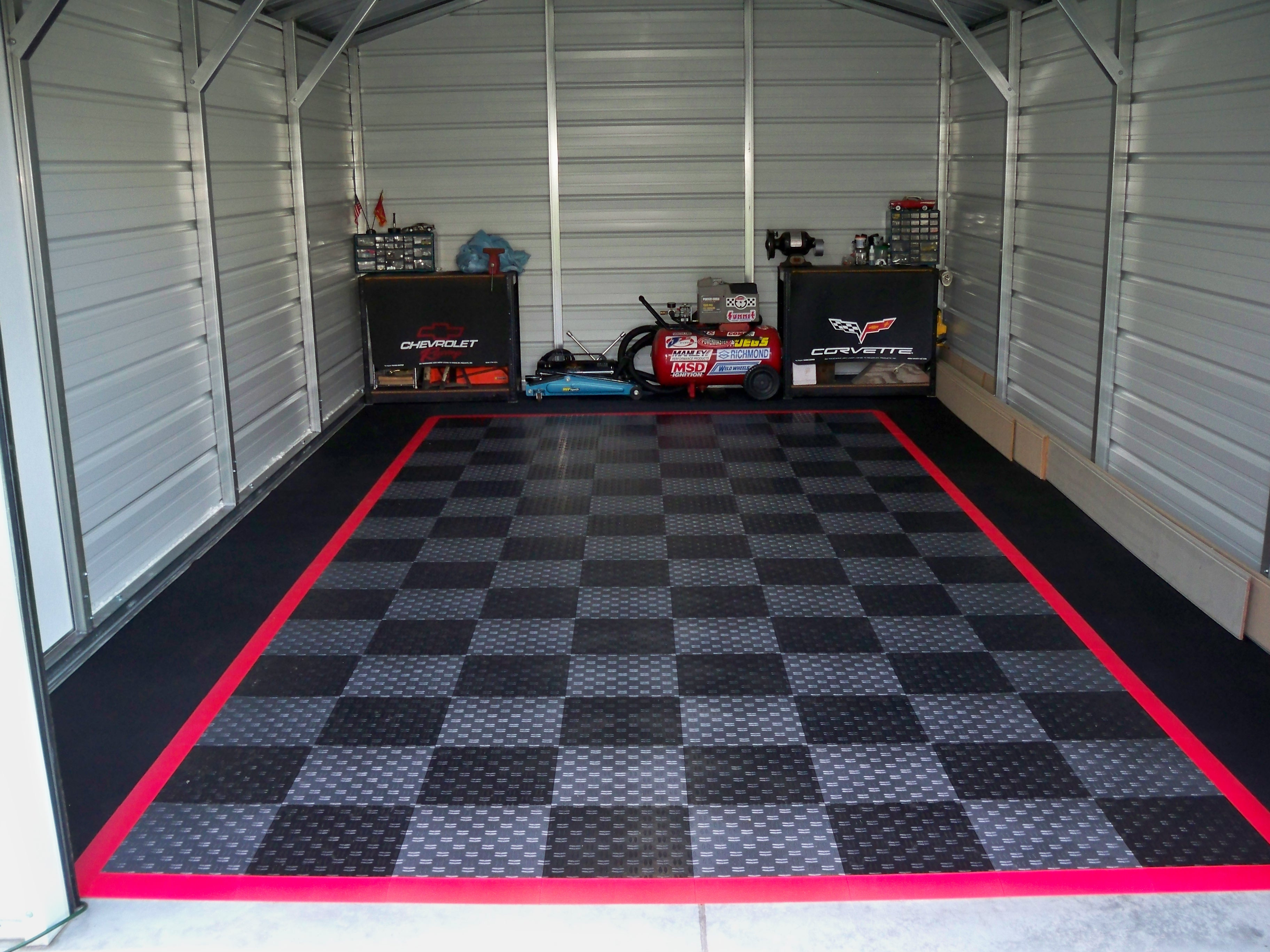 Finished my garage floor today for my 70 camaro name 002g views 841 size 159 mb dailygadgetfo Gallery