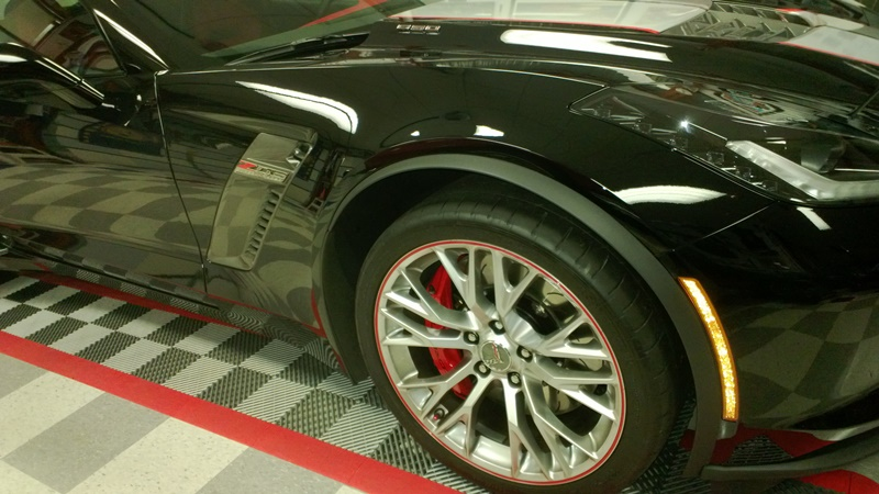 The Good Looks of the Brake Calipers on the C7