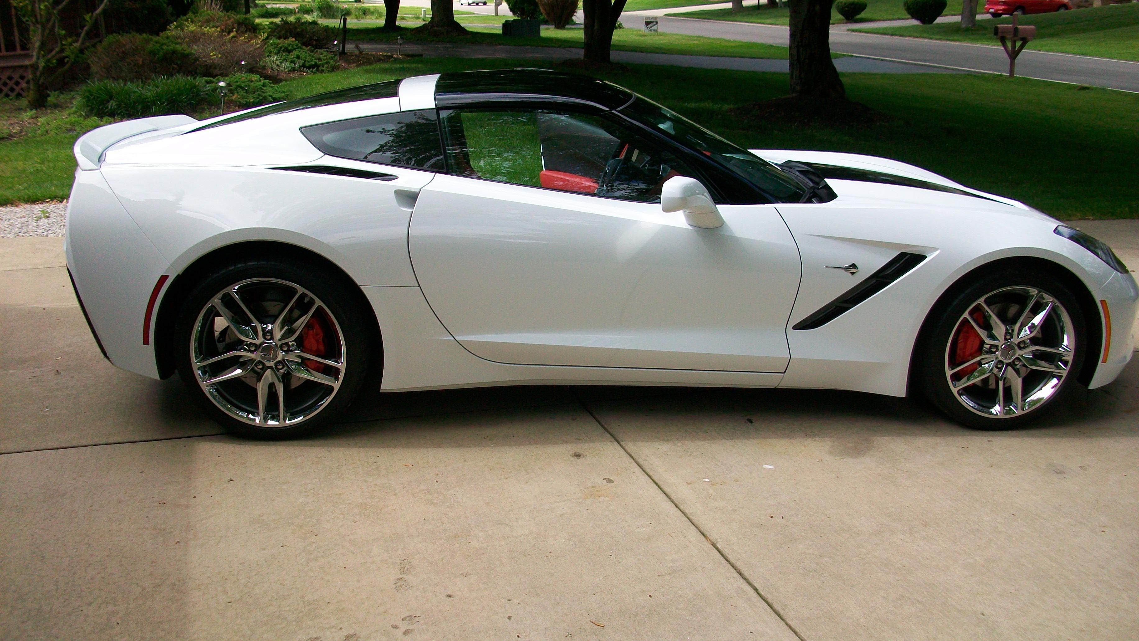 The official Arctic White Stingray Corvette Photo Thread