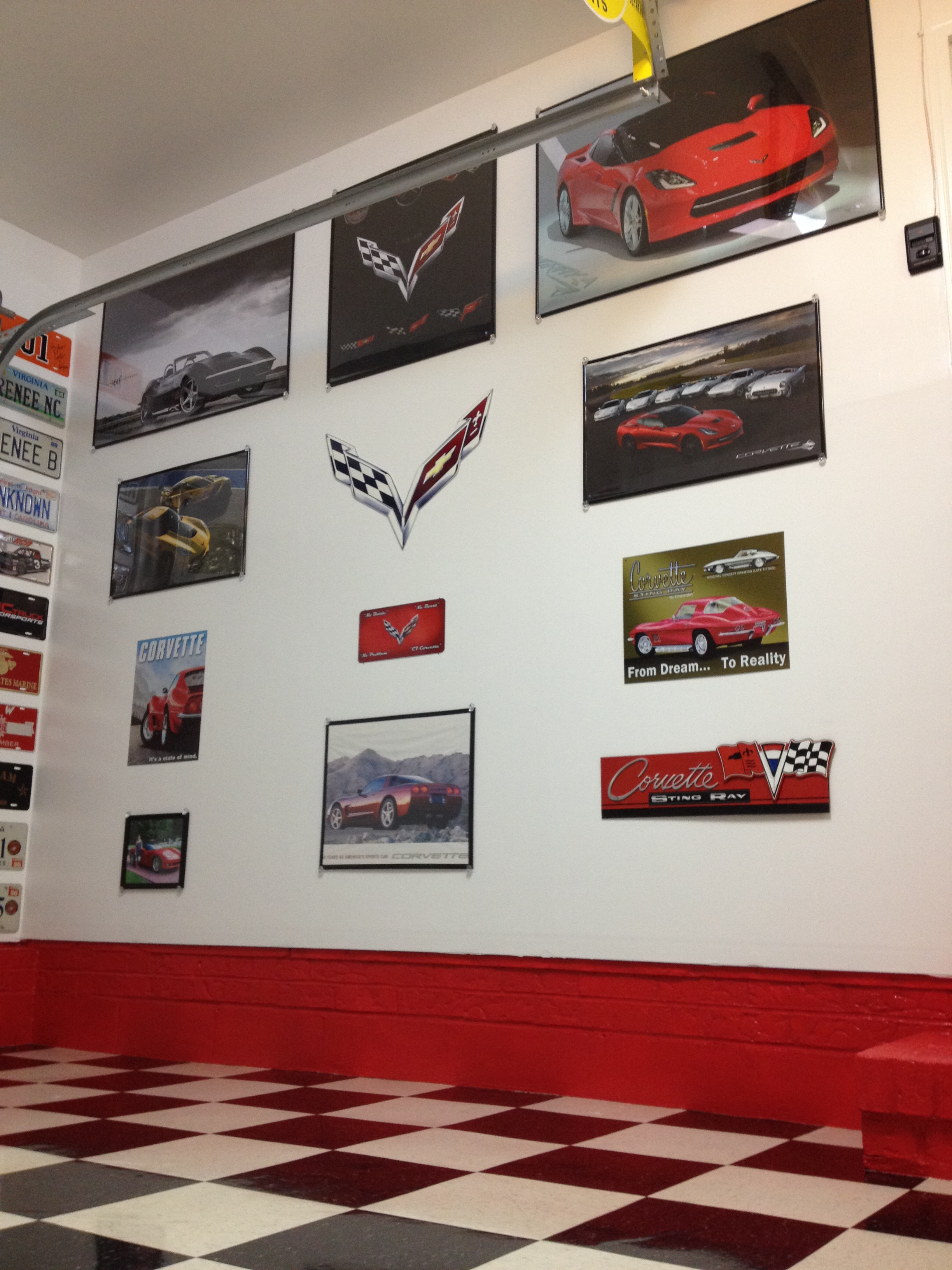 Cool Signs For Your Garage : Let s see your cool garage pictures porcelain signs