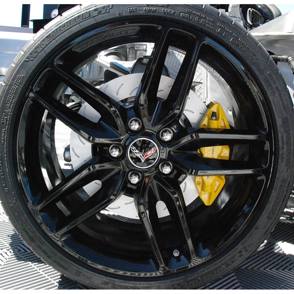 Original 2015 Corvette Z51 Rims Tires Fs