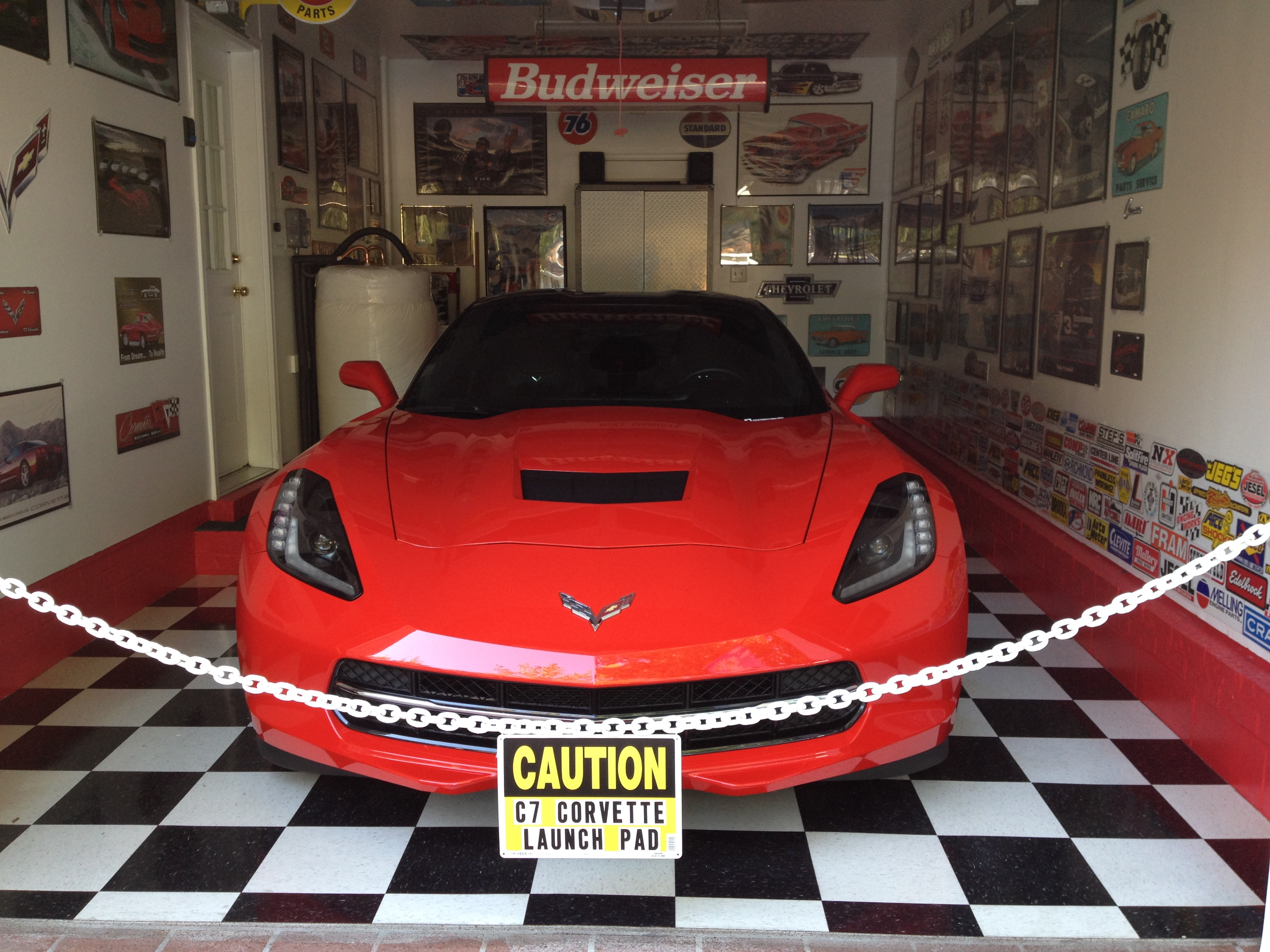 Have You Re Arranged Your Garage After Buying Your C7