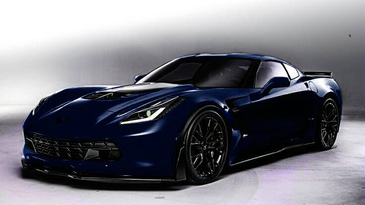 2015 corvette z06 night race blue metallic car interior design - Corvette 2015 Z06 Black