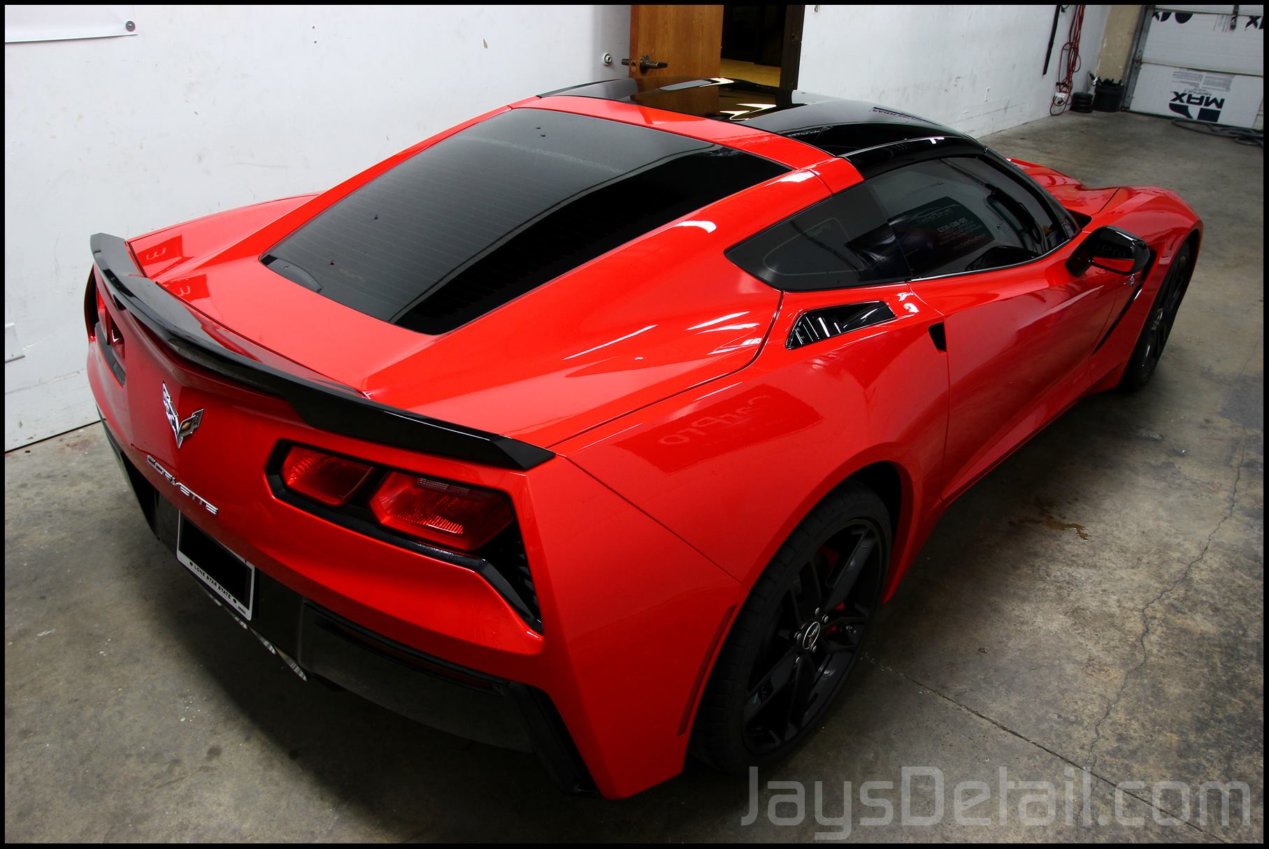 Cquartz Finest applied to my torch red C7