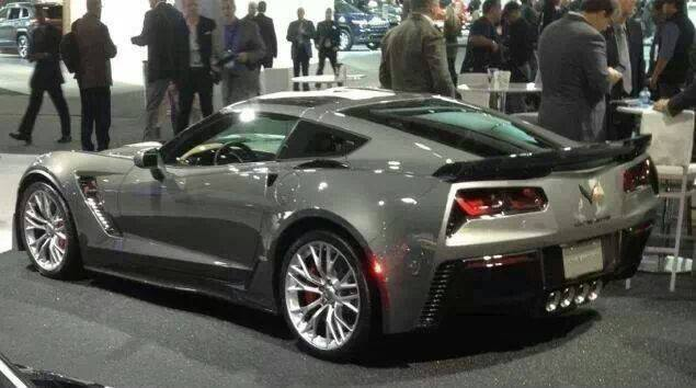 2015 Corvette Gray Shark