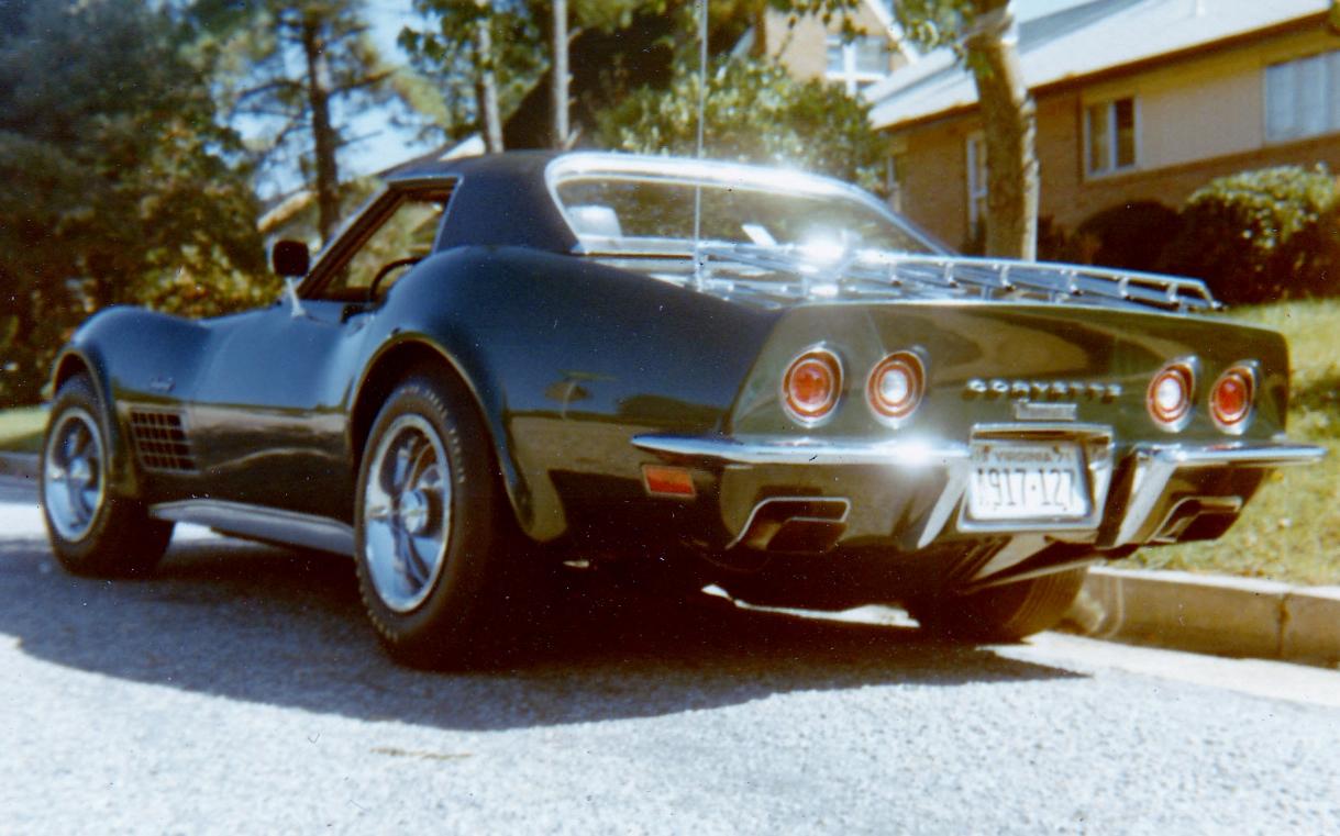 Name:  1971 LT1 Corvette rear.jpg Views: 14815 Size:  477.2 KB