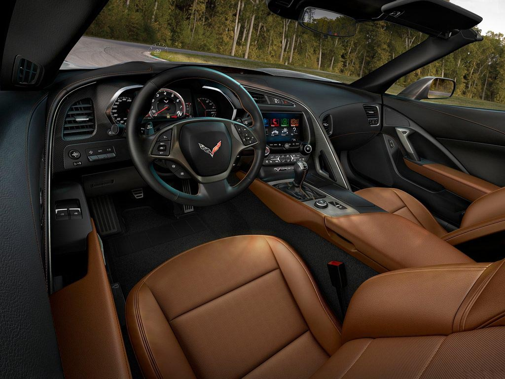 2014 Corvette C7 Interior Colors