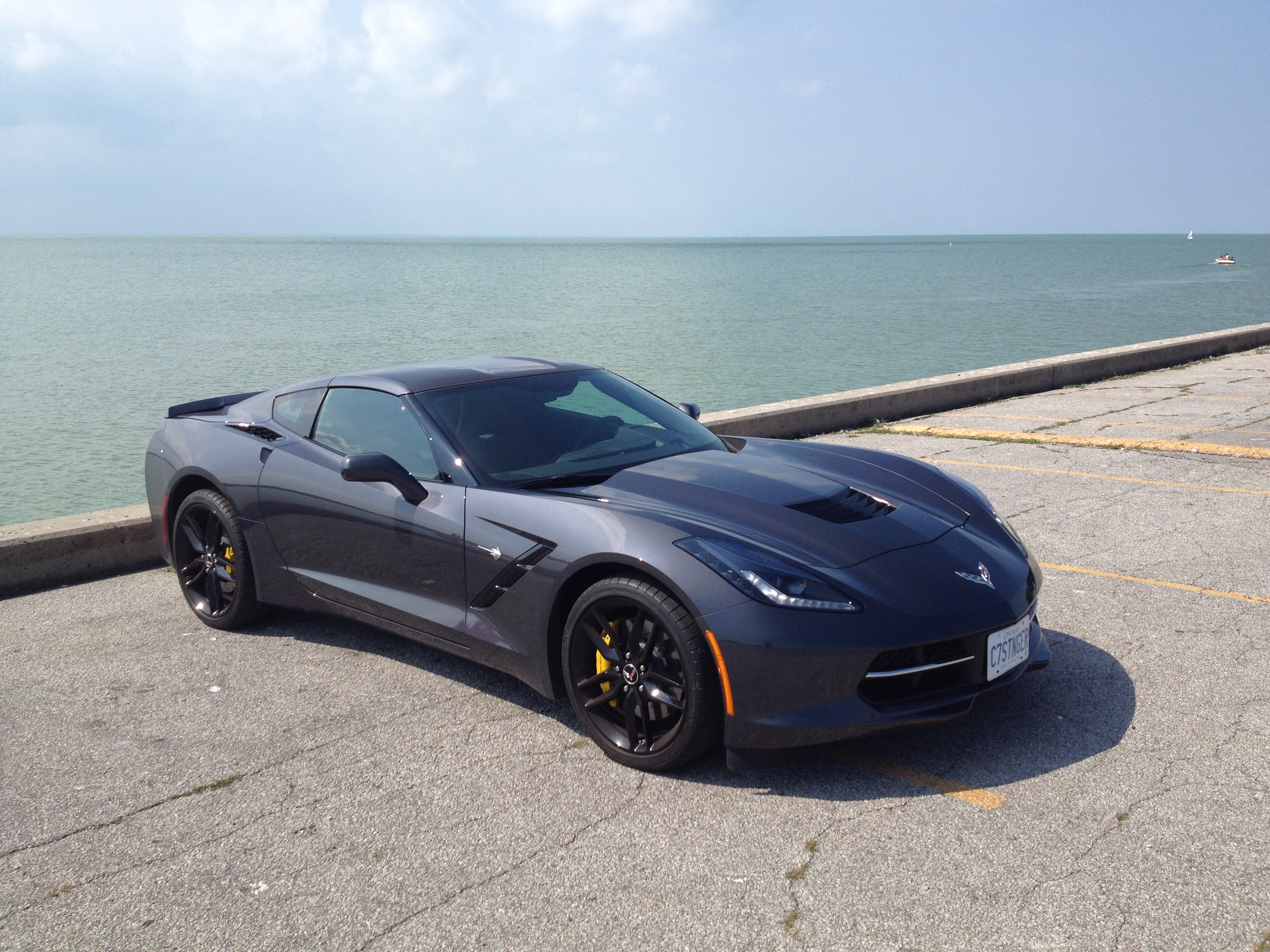 The Official Cyber Gray Stingray Corvette Photo Thread