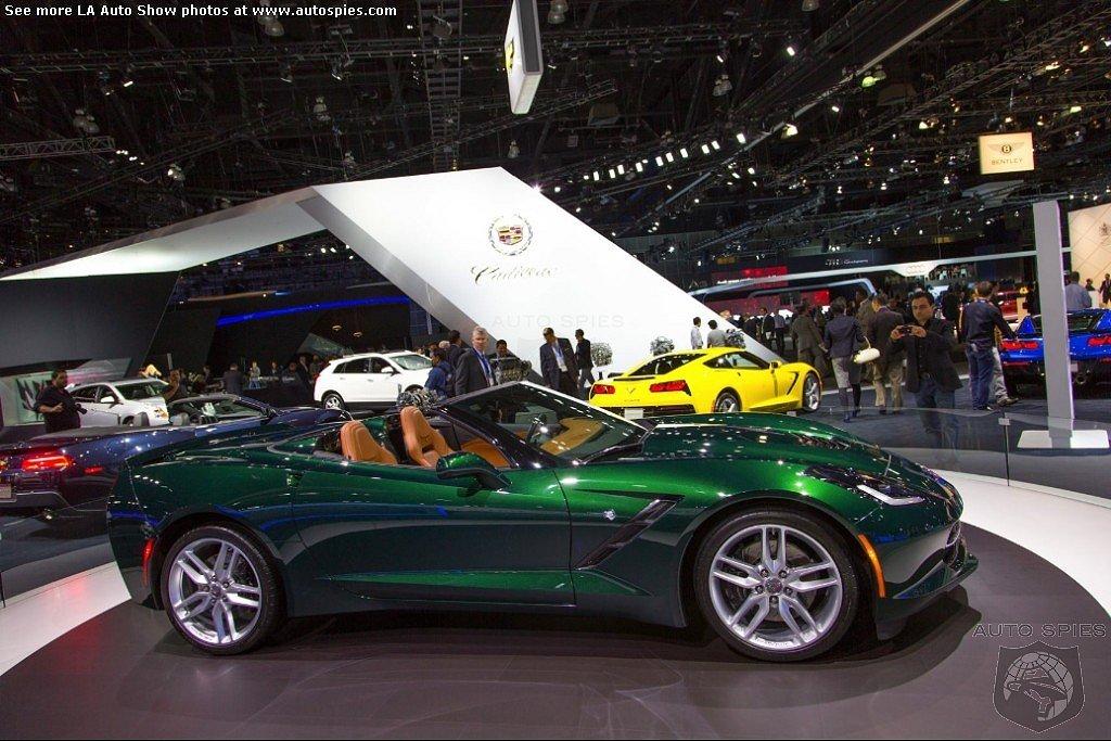 Lime Rock Green Stingray Corvette Photo