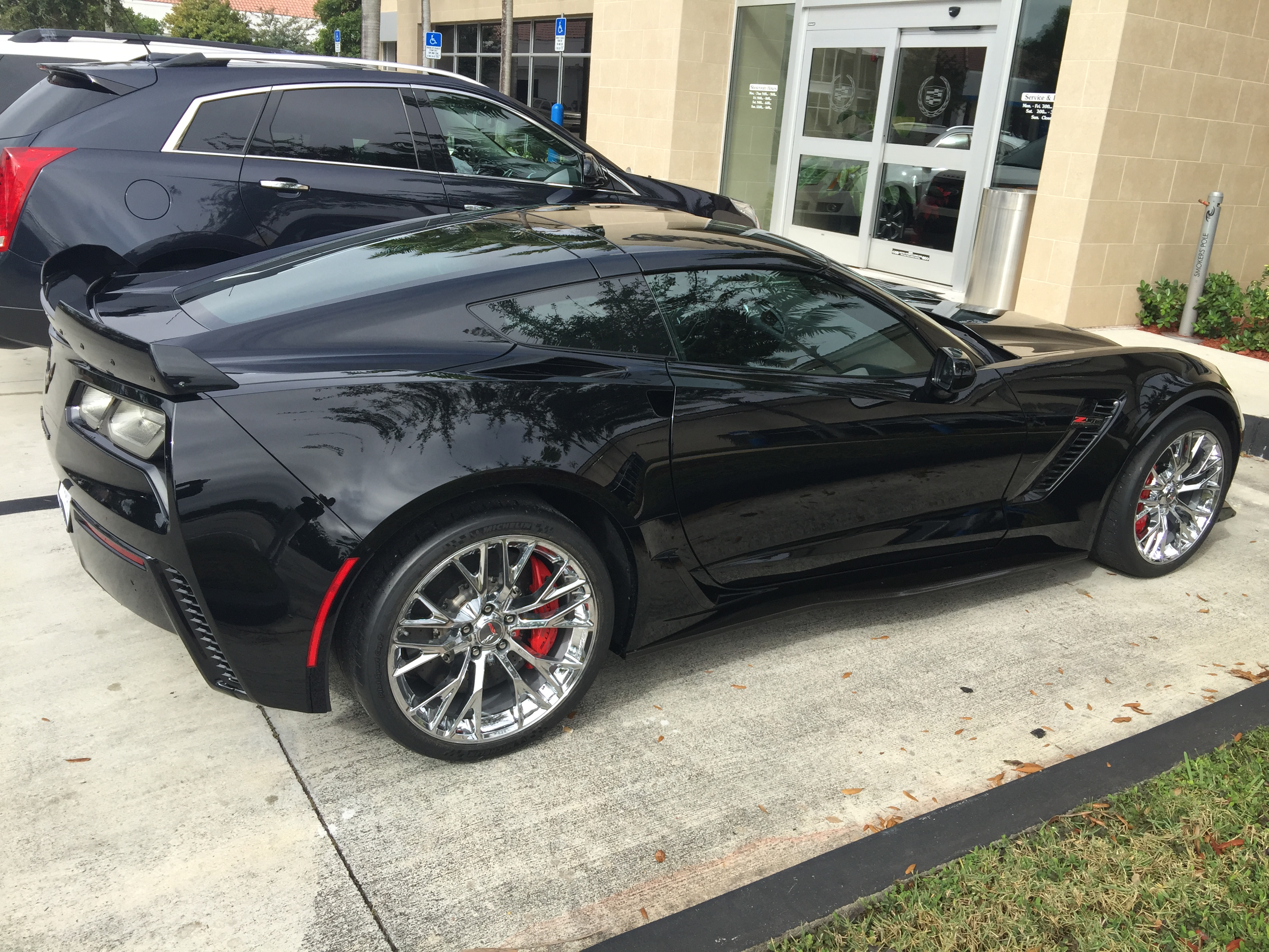 Any Info On The Different Z06 Wheel Choices Offered By Gm