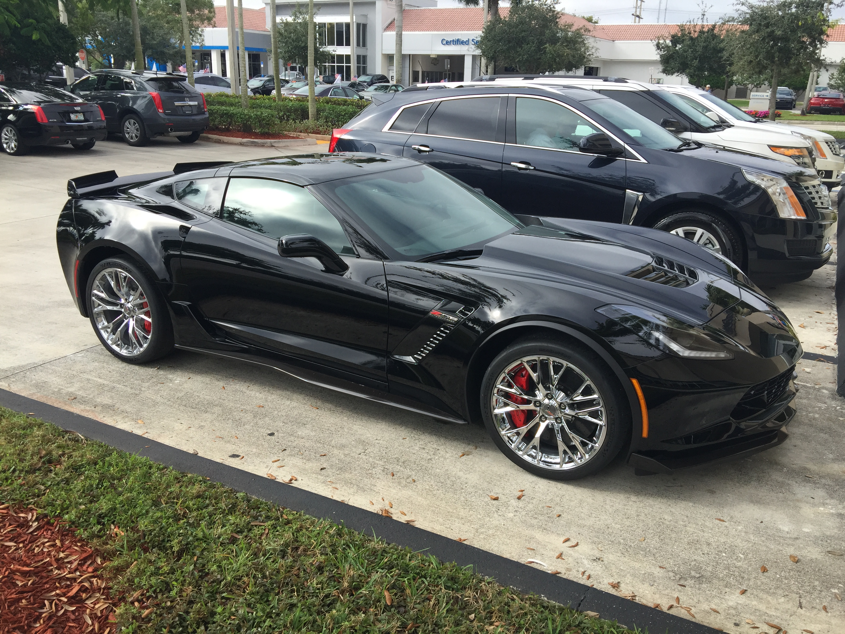 2016 Corvette Z07 >> Came across this Black Beauty today