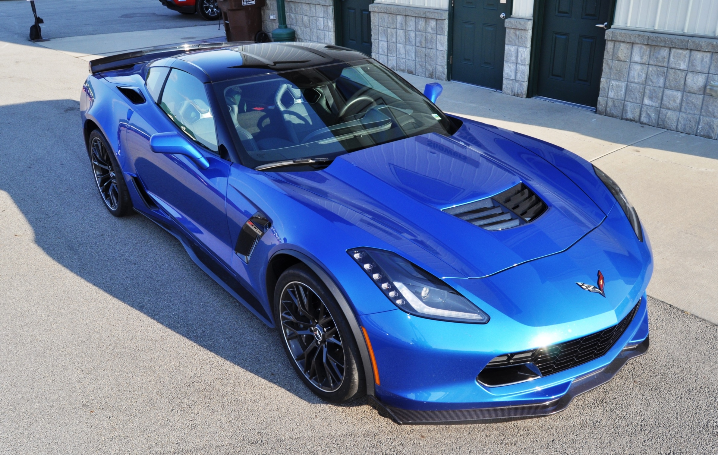 tadge shows off new z06lb coupe & bs convertible