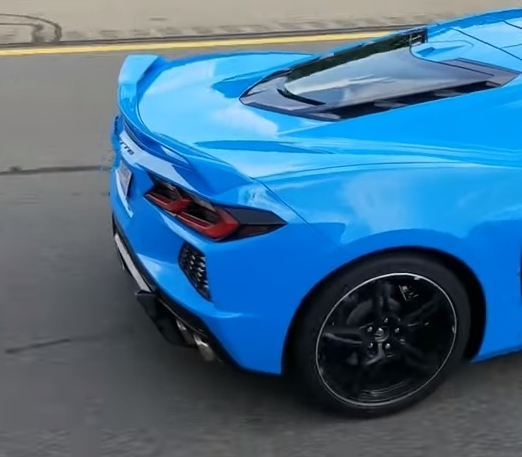 Images Of The C8 In Rapid Blue