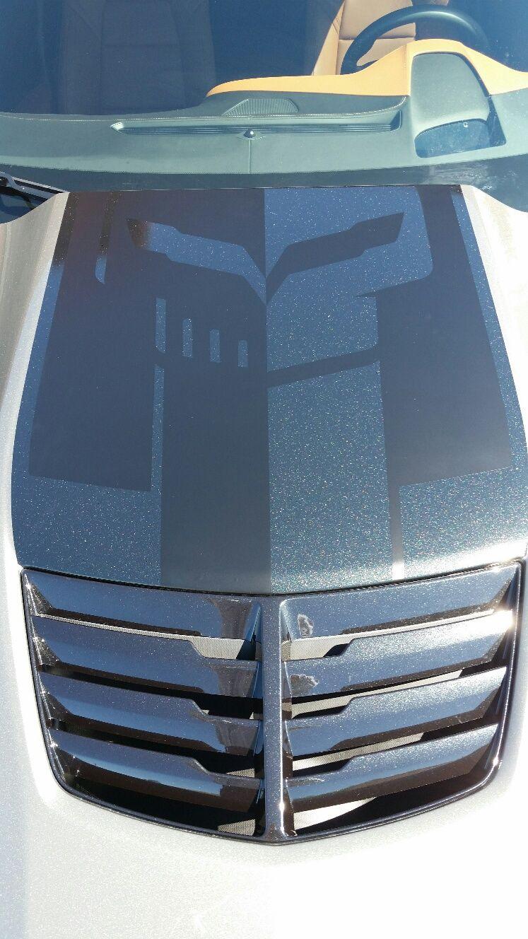 Corvette Racing Jake Skull Logo