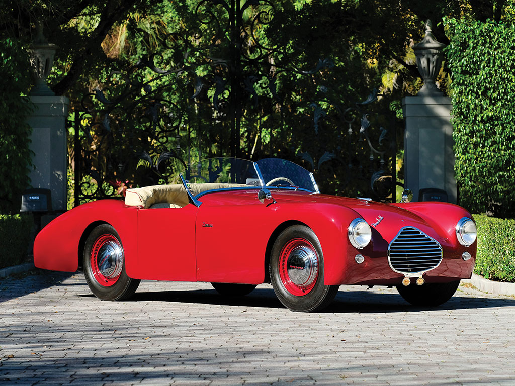 5 Unusual Looking Cars Just Sold At Amelia Island Courtesy