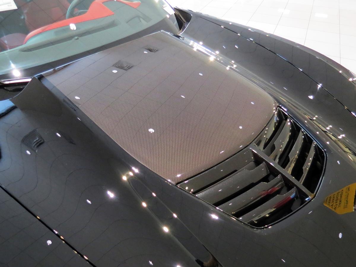 New Carbon Fiber Hood Stinger Option