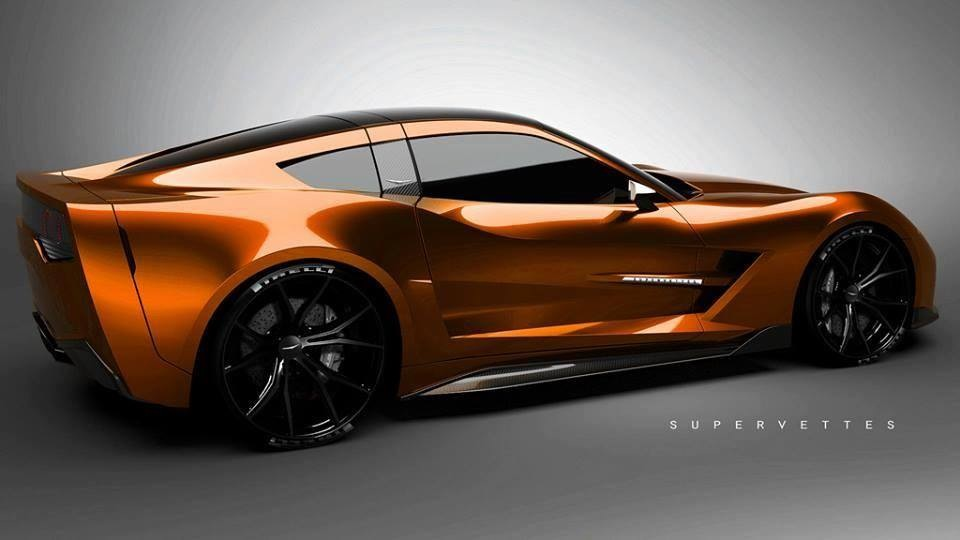 Official Z06 Daytona Orange Sunrise Metallic Thread