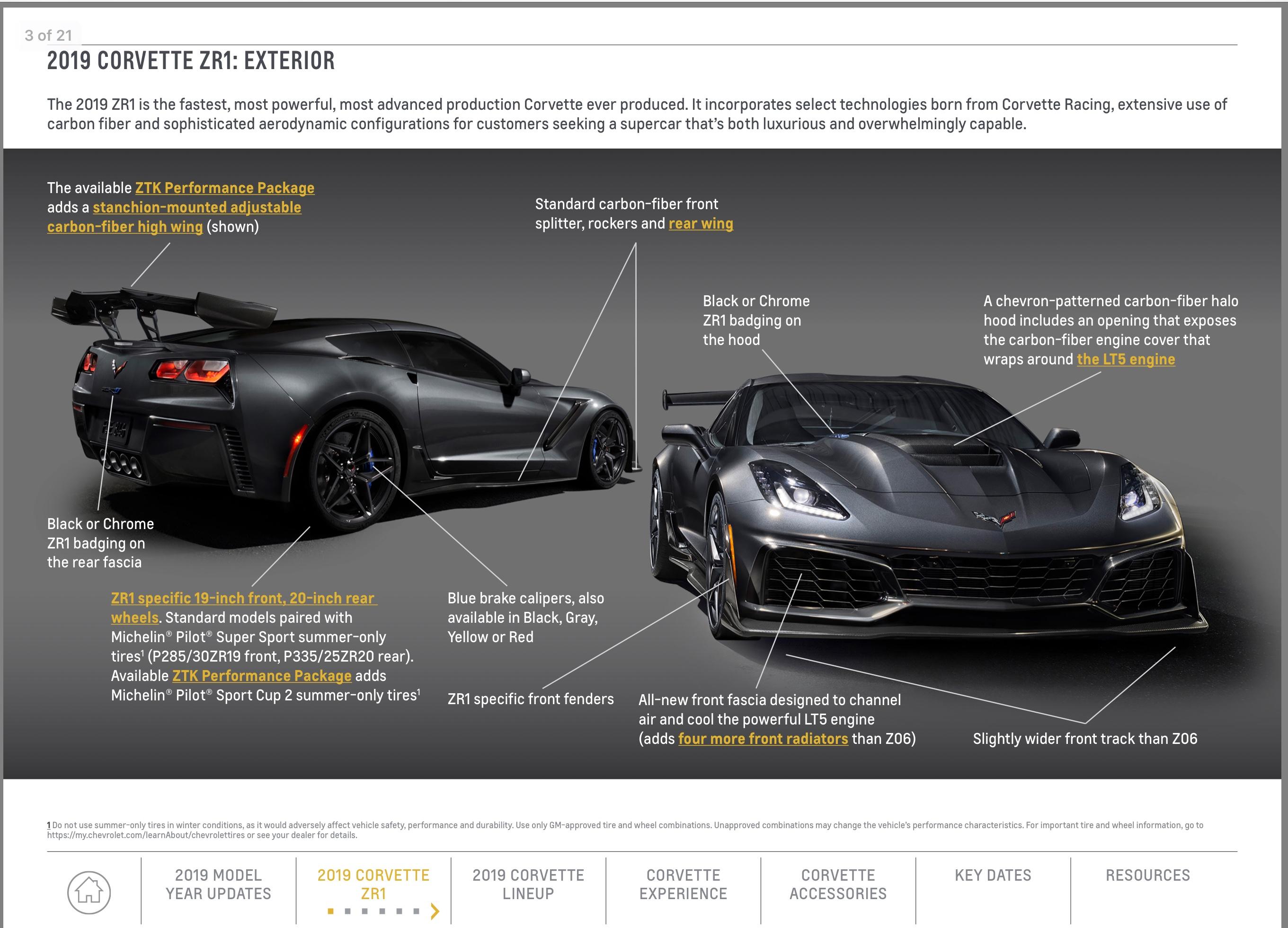 National Corvette Museum >> GM: 2019 Corvette Playbook