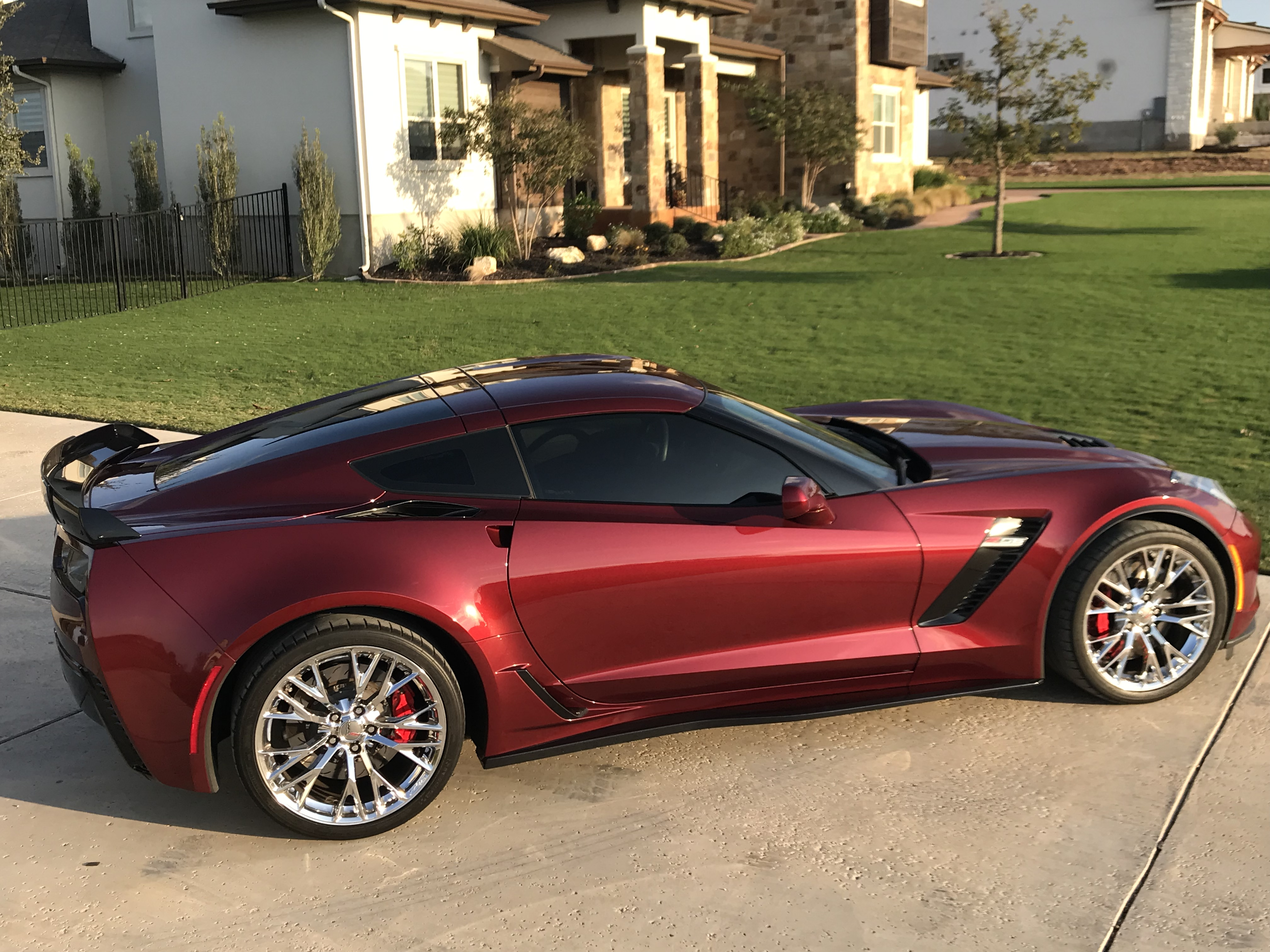 2016 Long beach red C7 Z06 1lt with upgraded Aero