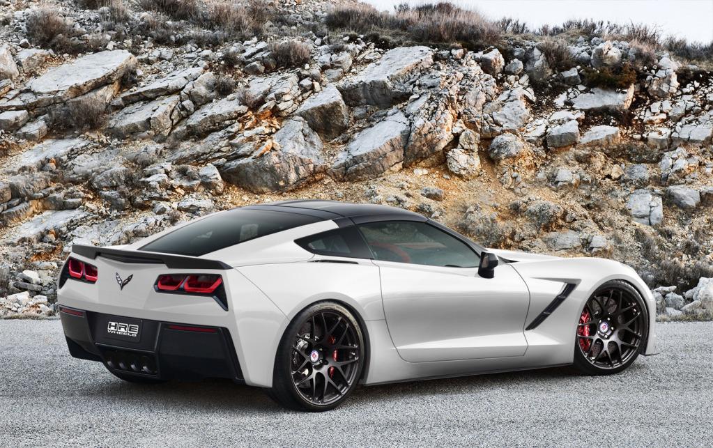 2014 Corvette Stingray White