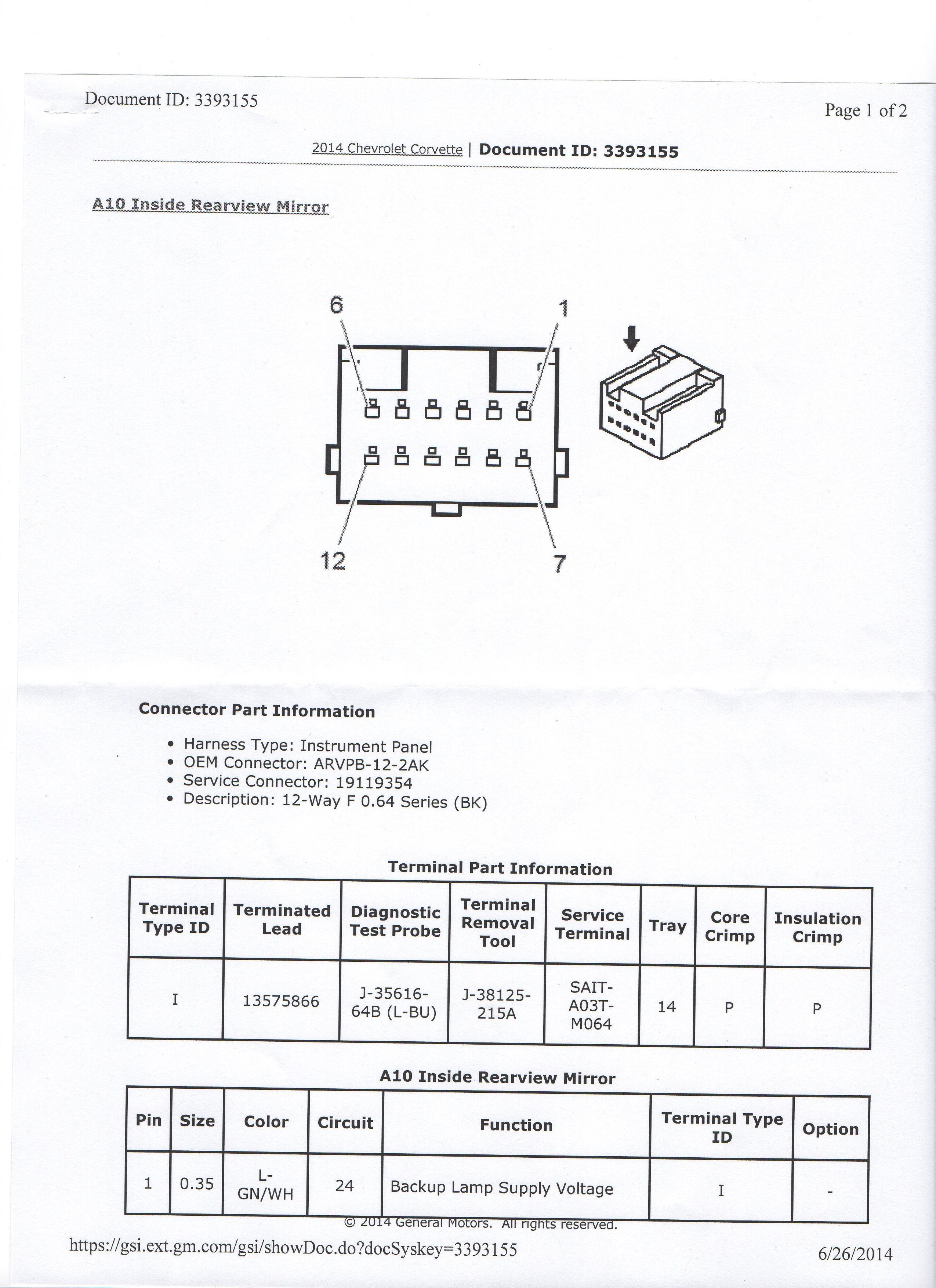 gentex mirror wiring diagram 12 pin gentex mirror wiring diagram general discussion