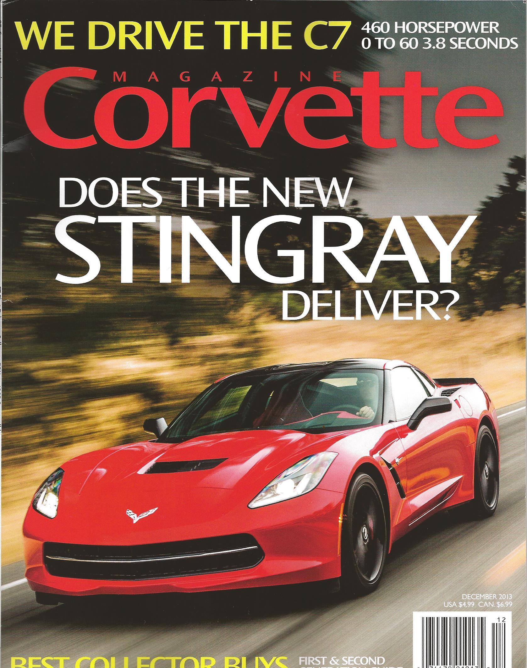 Corvette Magazine Dec - Sports cars magazine