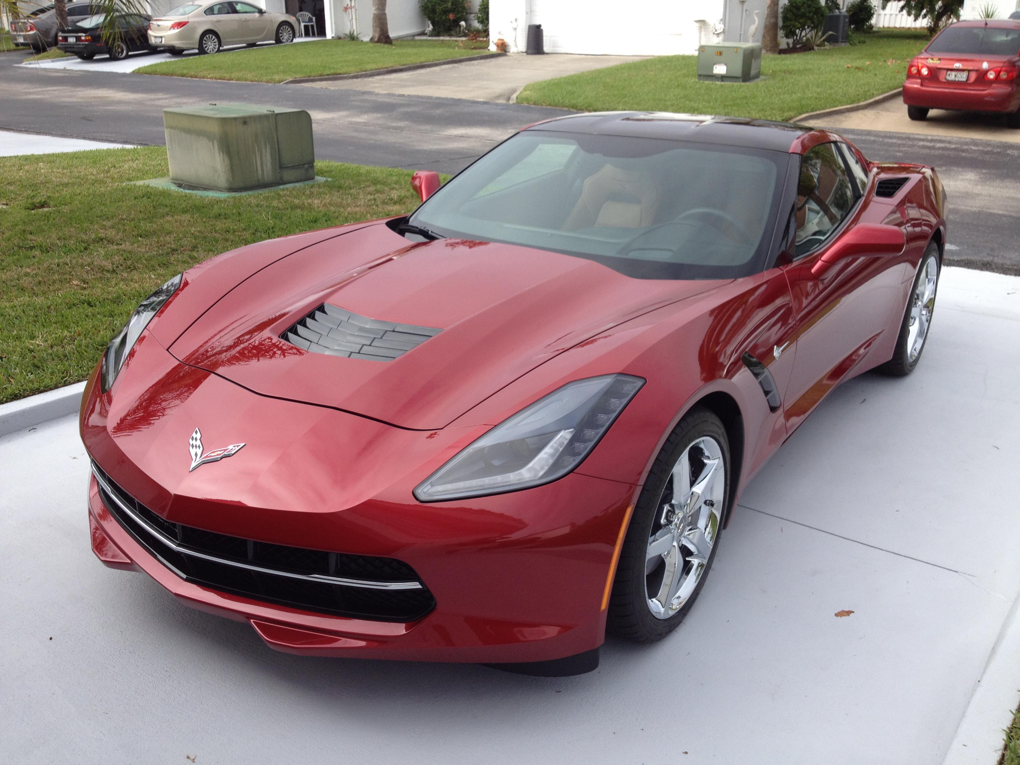The Official Crystal Red Stingray Corvette Photo Thread