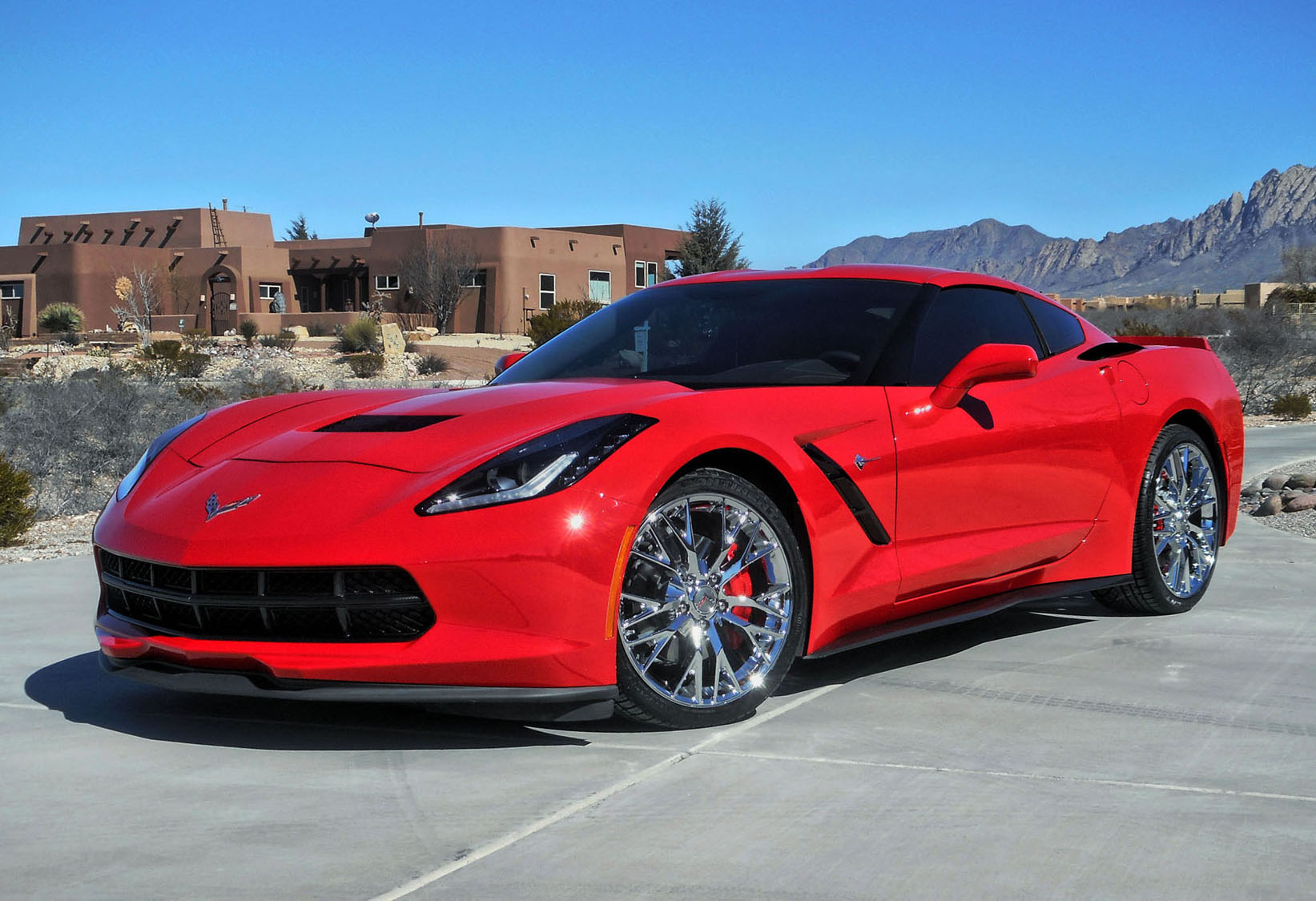 2015 Corvette C7 Stingray 1lt Base With Z06 Wheels