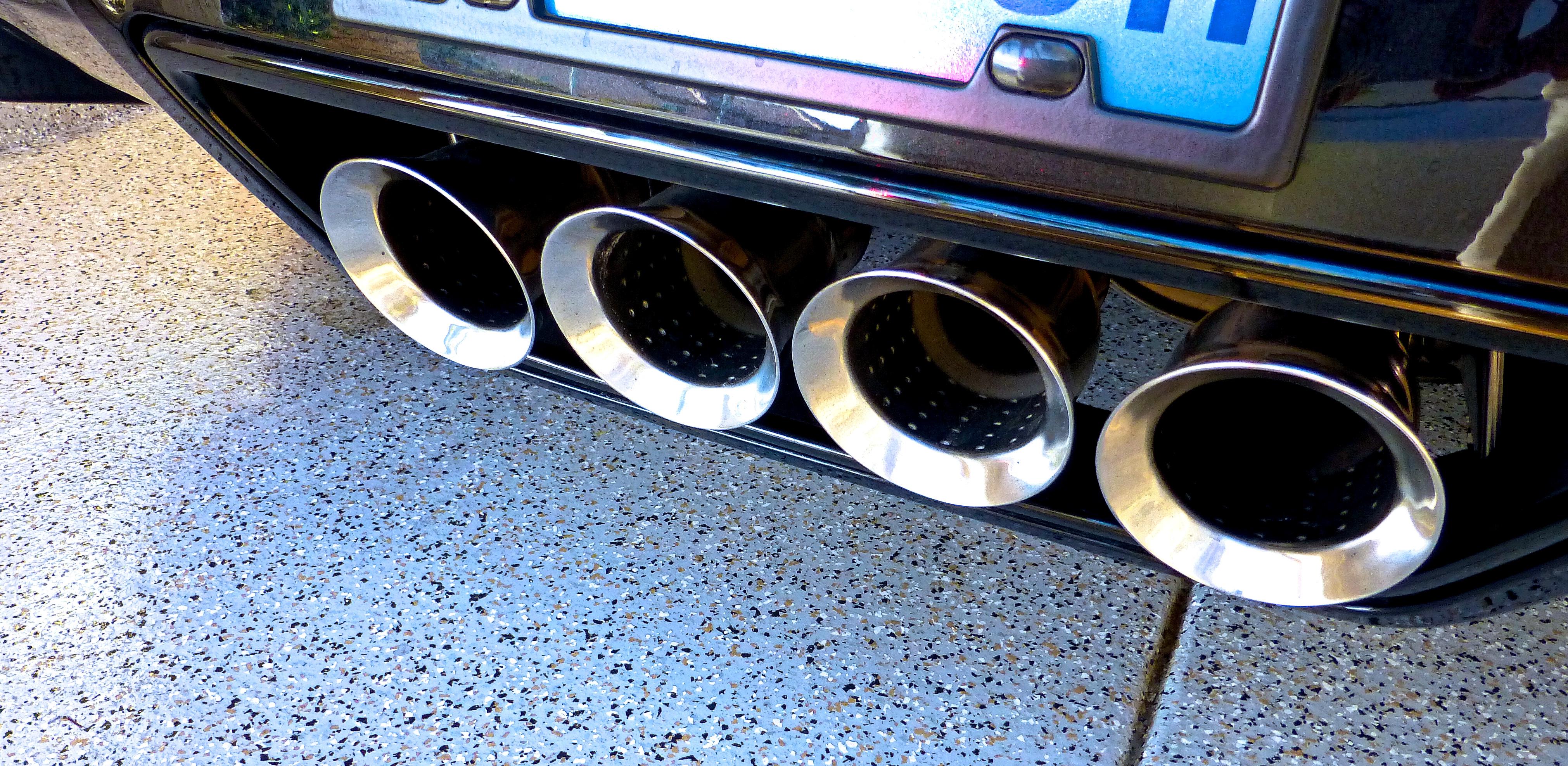 Exhaust Tip Polishing