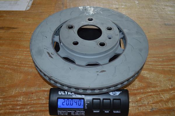 Racing Brake 2PC rotors 10lbs lighter than Z51