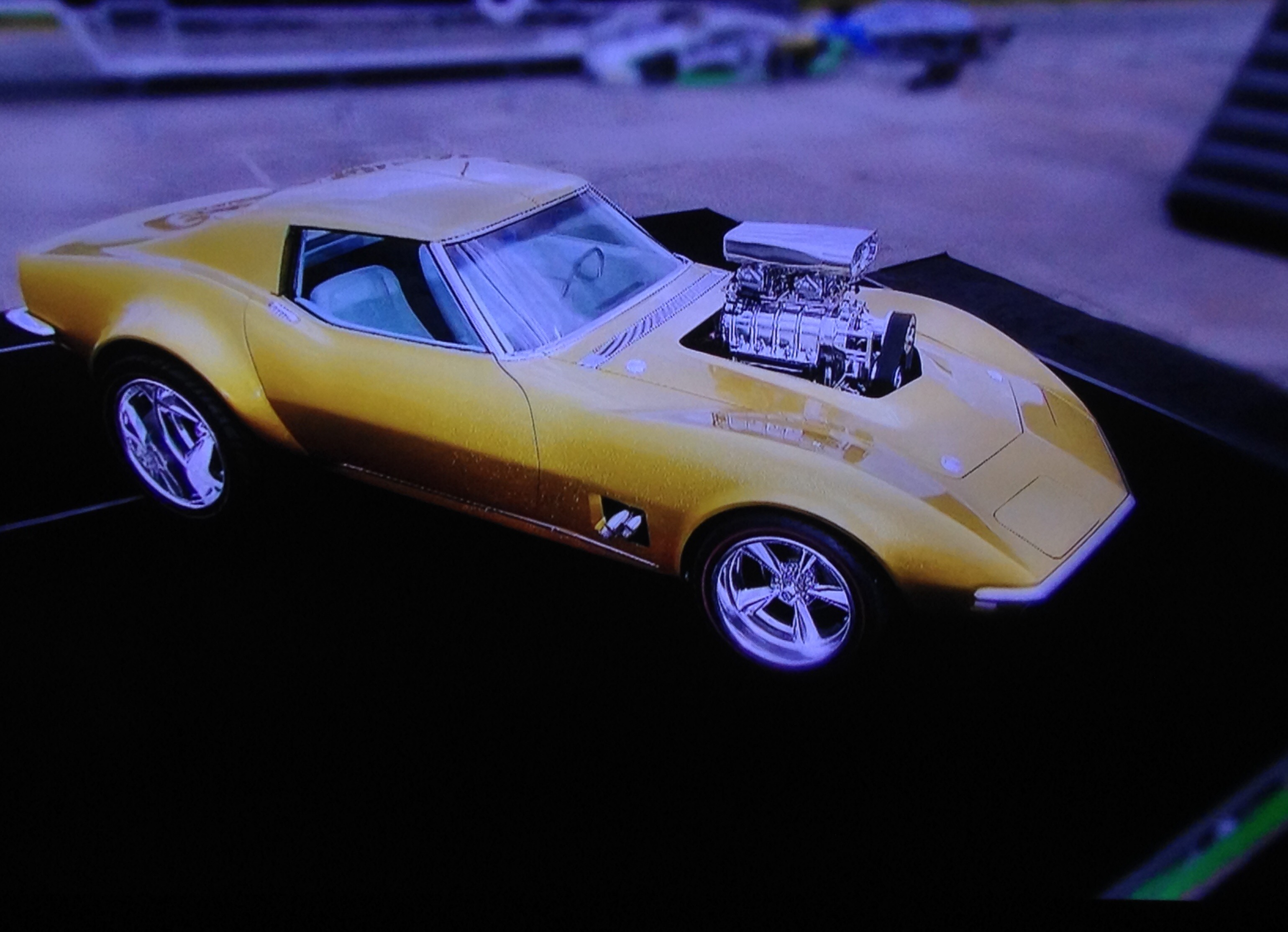 New Hotwheels Corvette