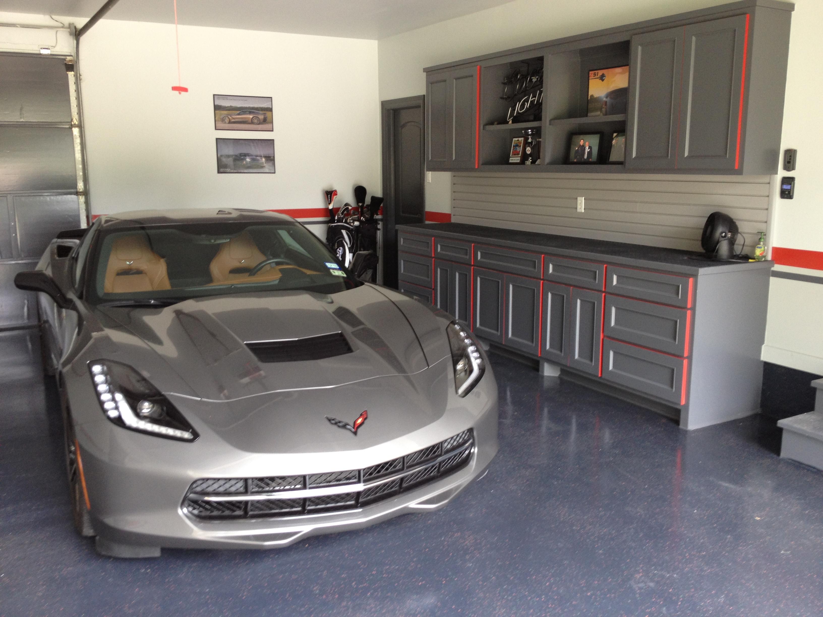 Corvette Signs Garage : Let s see your cool garage pictures porcelain signs