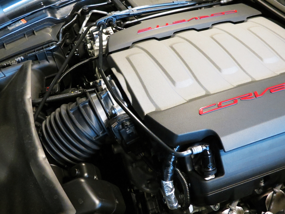 2017 Grand Sport Engine Compartment Photos   notice anything