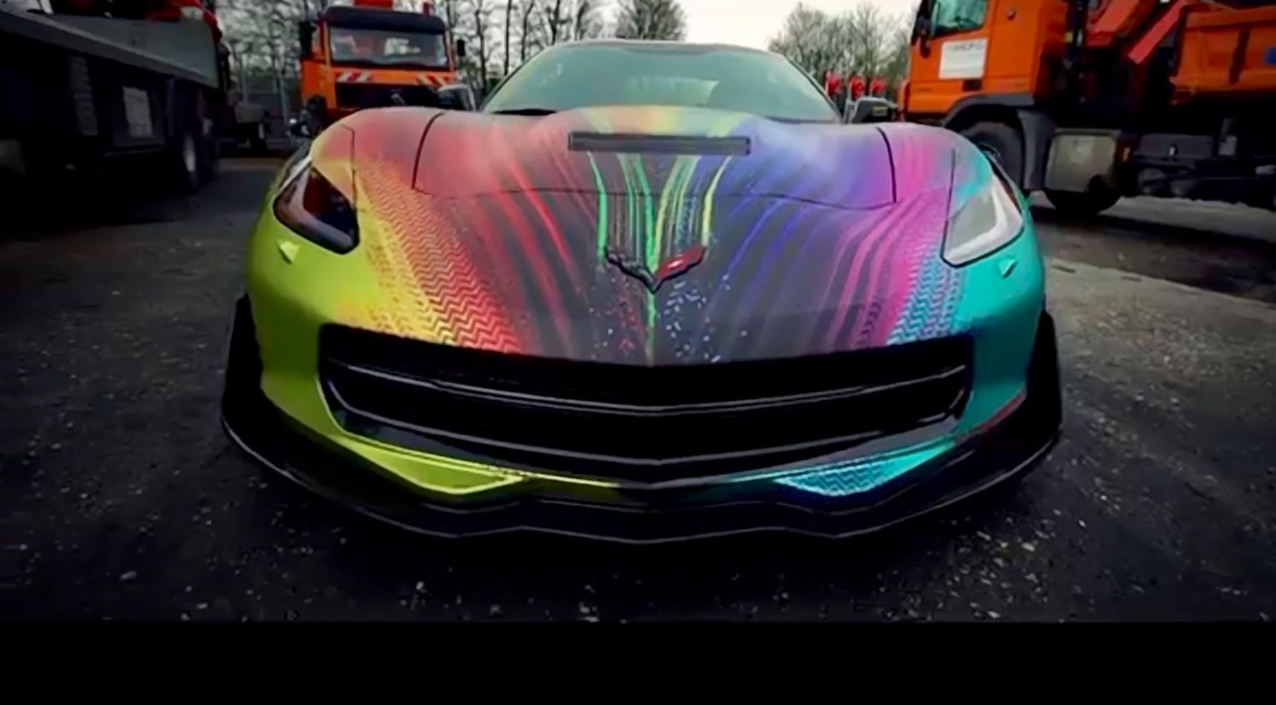 2018 Corvette Color