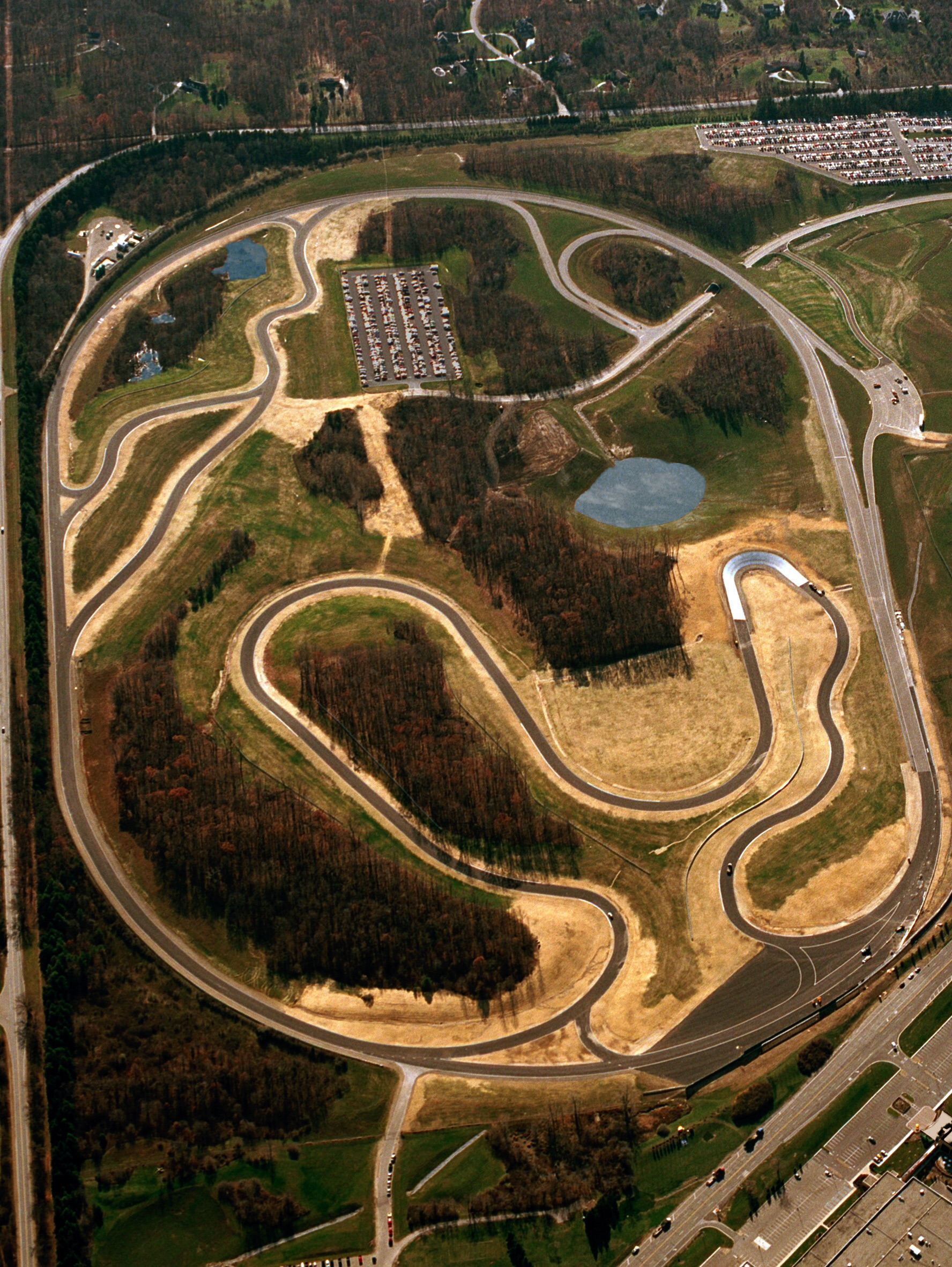 Gm S Testing Track Milford Proving Grounds