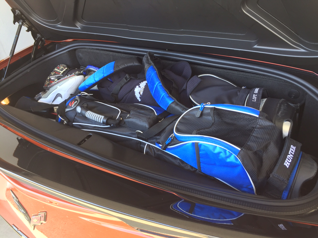 C7 Convertible Trunk Space Enough Room For 2 Golf Bags Yesssss