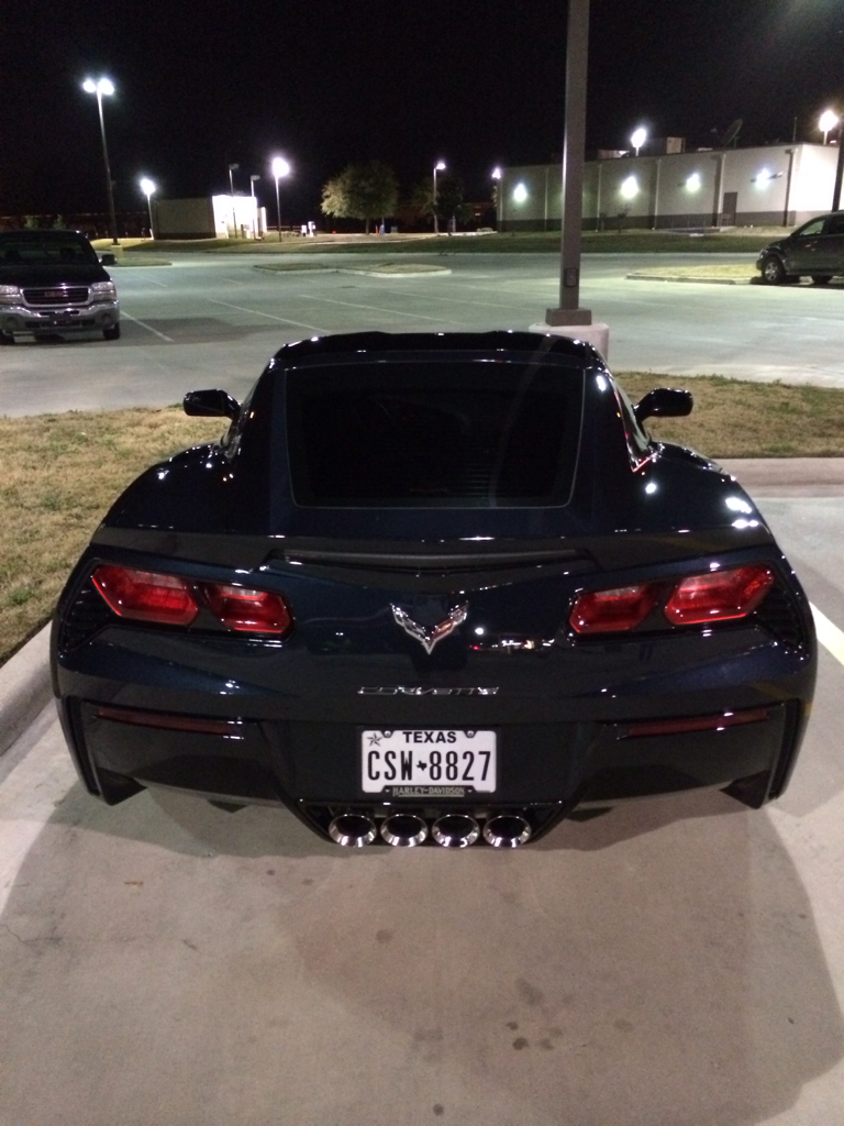2014 Corvette Stingray Night Race Blue Metallic Night race blue