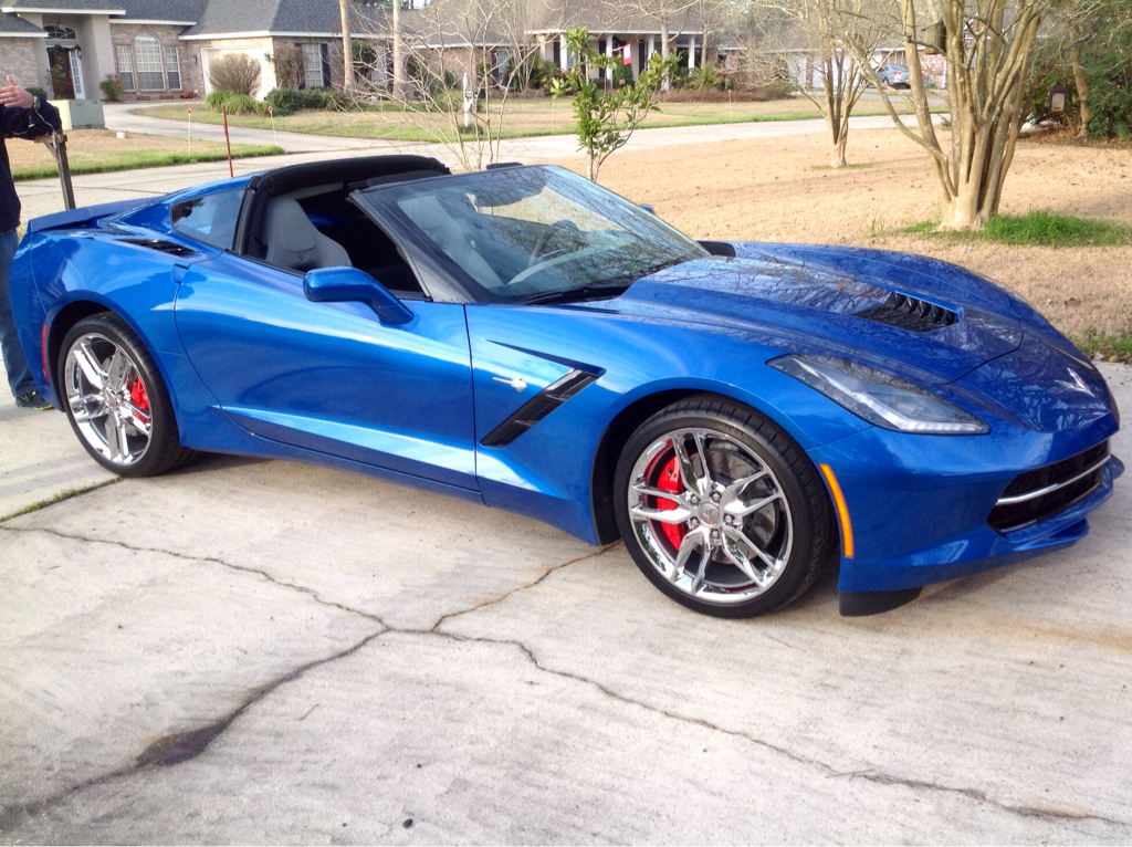 Blue 2014 Corvette Stingray Convertible.html | Autos Post