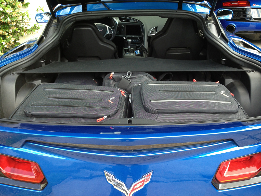 Suitcases Below Roof In Coupe Trunk Page 2