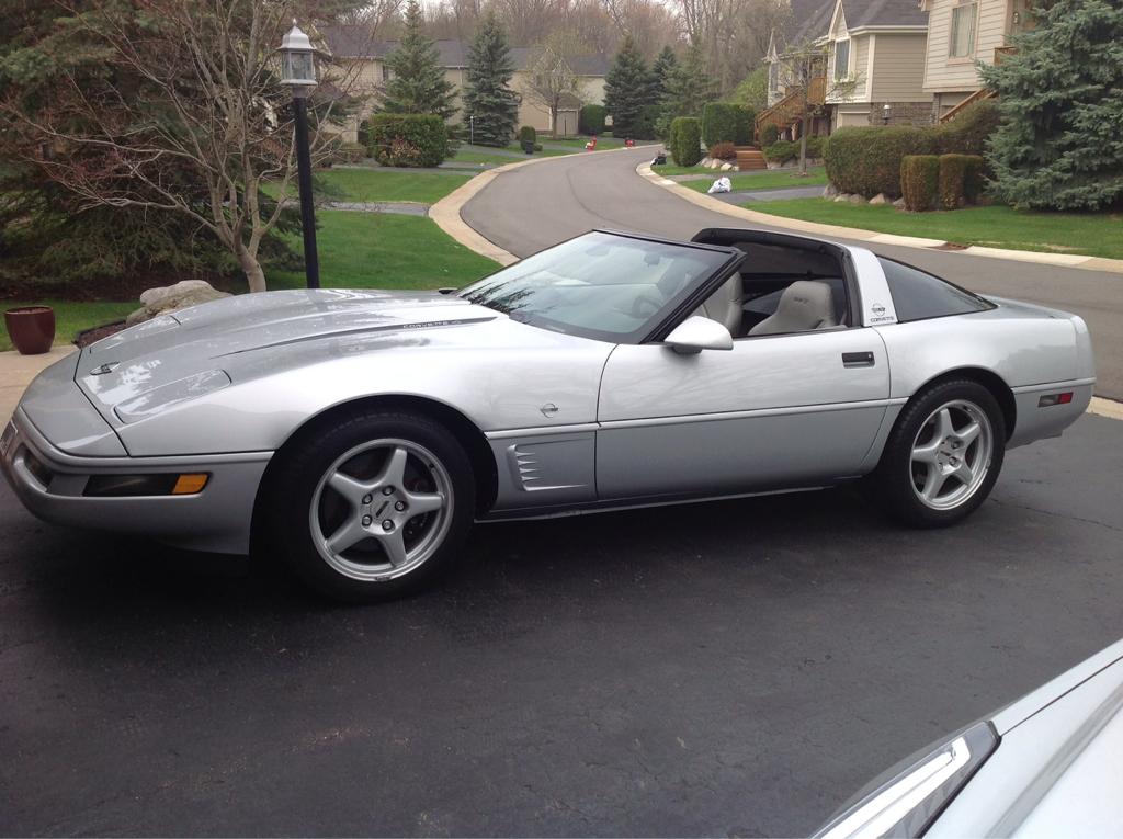 1996 sebring silver corvette collectors edition for sale. Black Bedroom Furniture Sets. Home Design Ideas