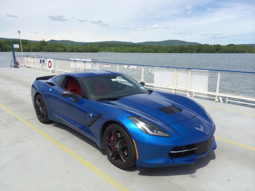 2014 laguna blue corvette with red interior autos post - Corvette 2015 Stingray Blue