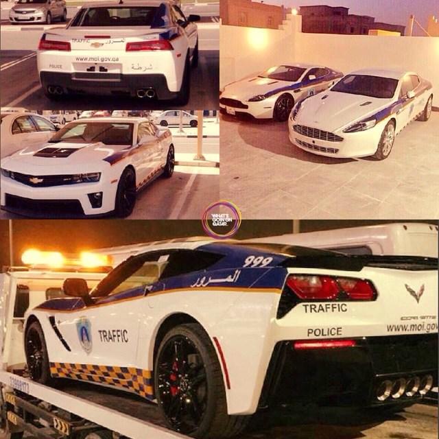 Police Cars In Qatar