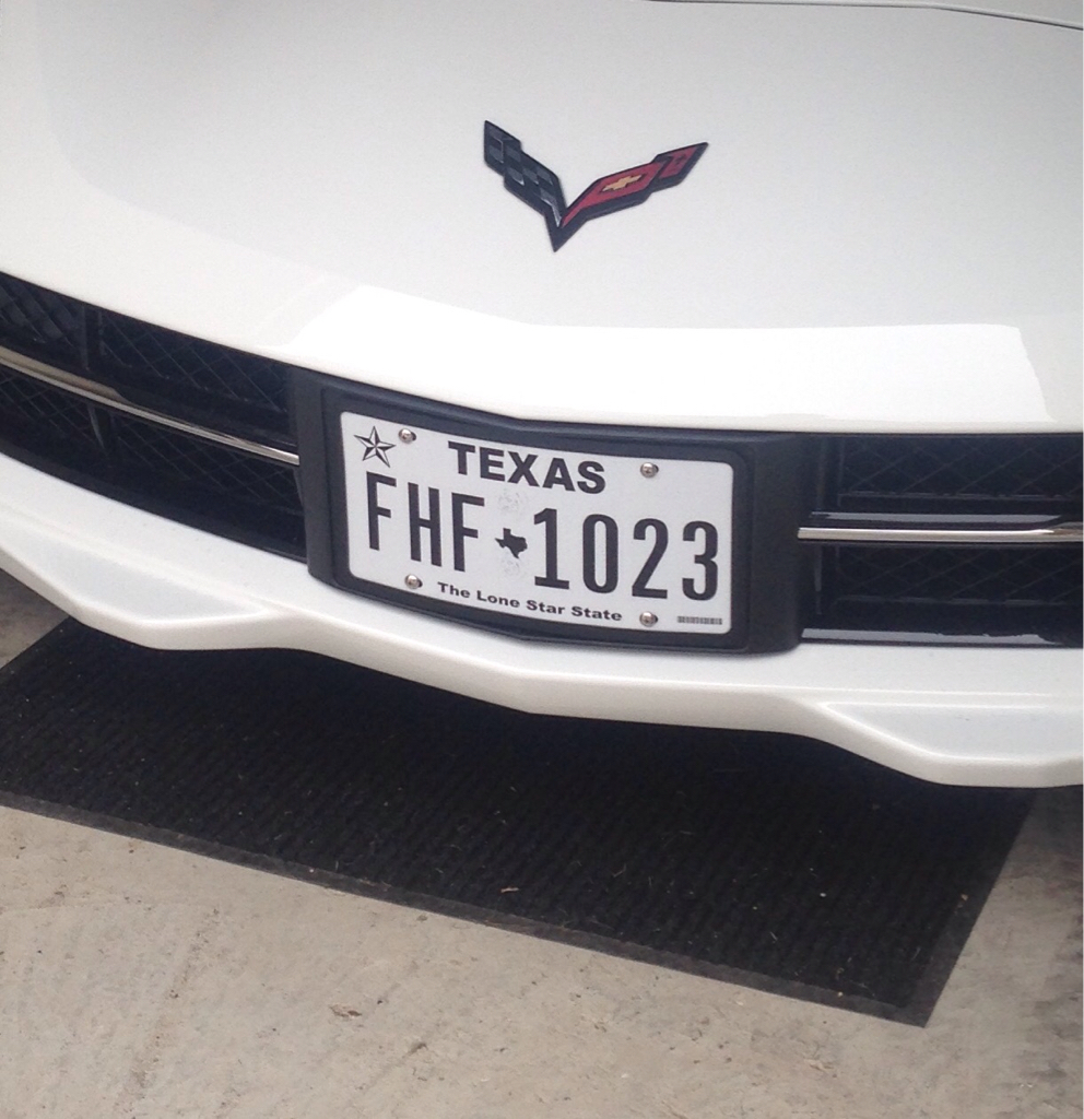 The Law front license plate holder Tesla Inc - oukas.info