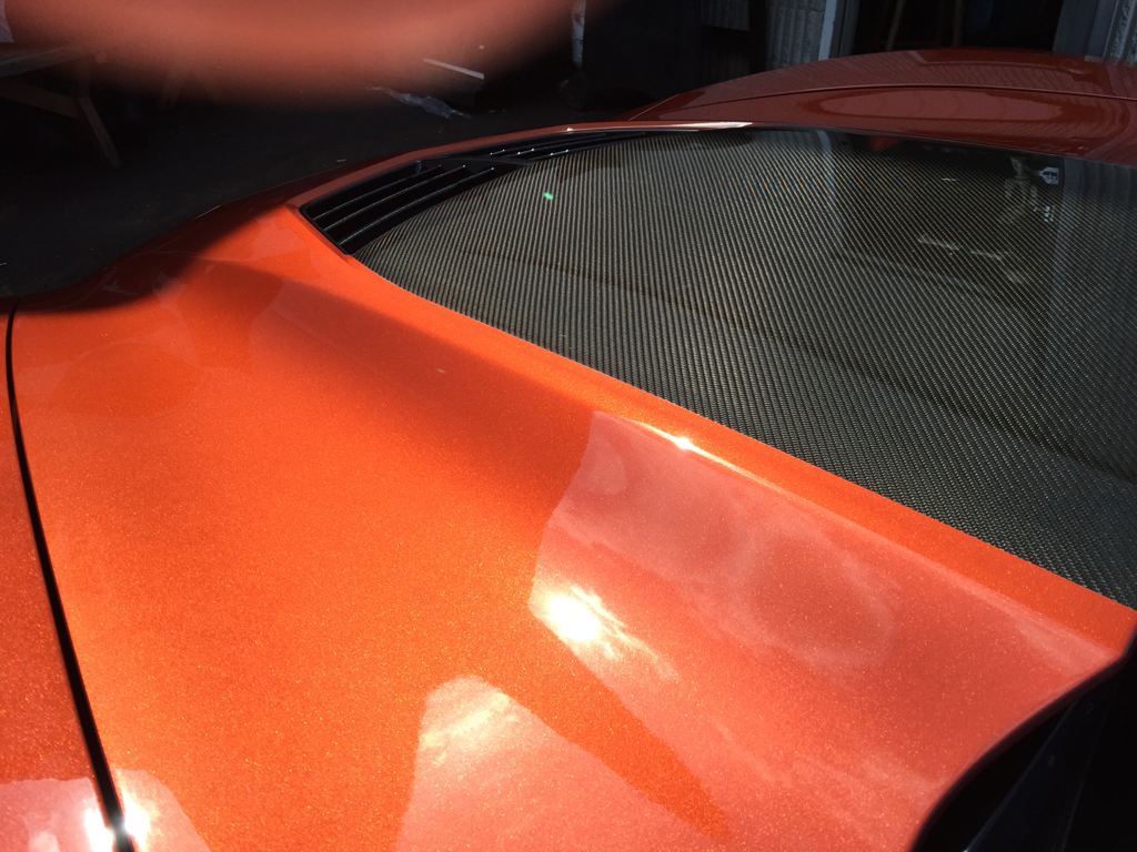 Carbon Flash Painted Mirrors And Spoiler Ttv