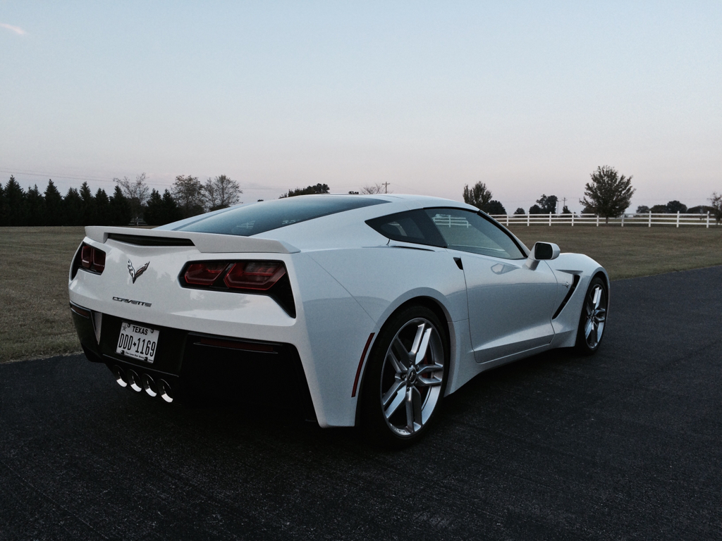 The official Arctic White Stingray Corvette Photo Thread