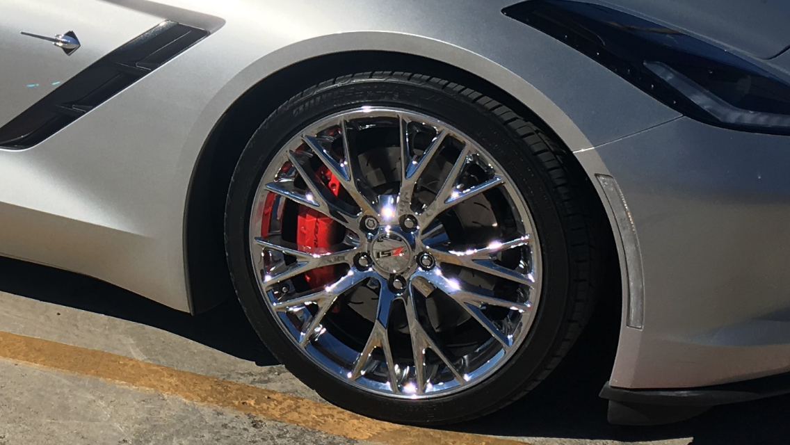National Corvette Museum >> C7 Z06 OEM style wheels for StingRay Z51?