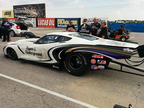 New C7 Drag Racer