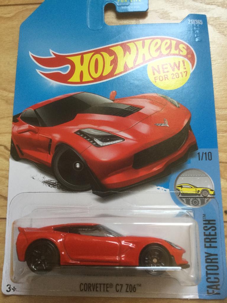 Hot Wheels C7 Z06