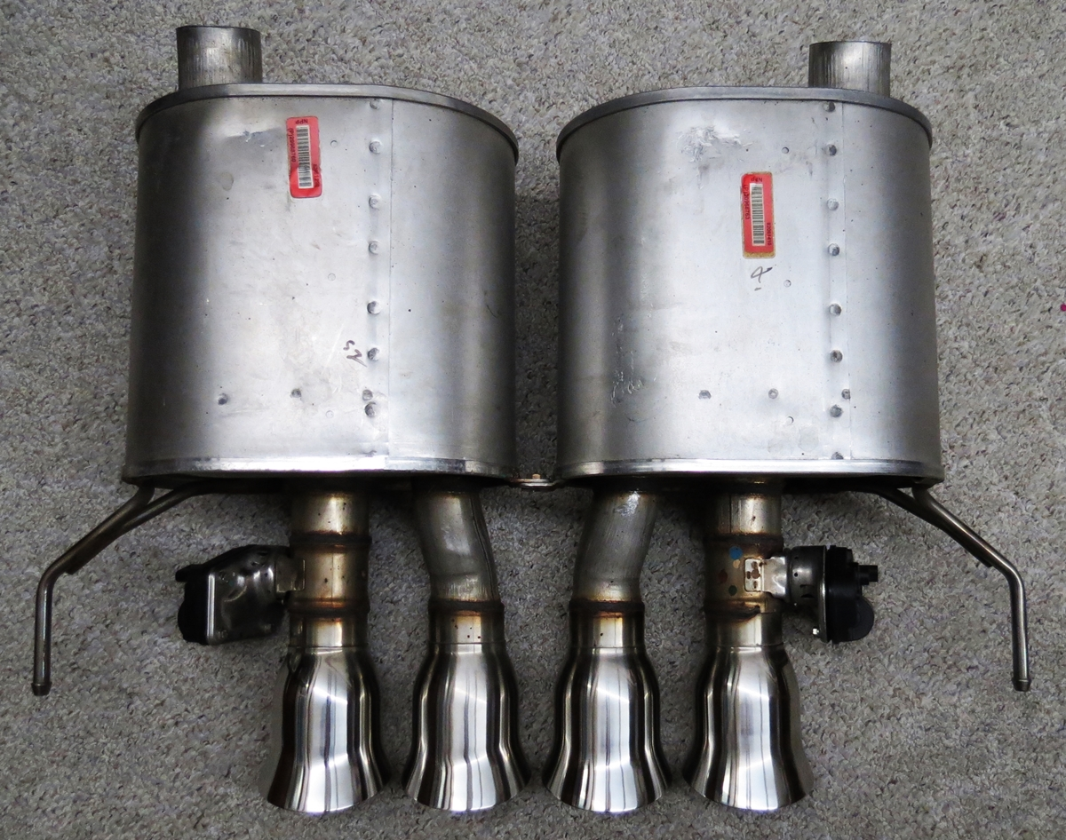 C6 Grand Sport >> NPP Exhaust for Sale