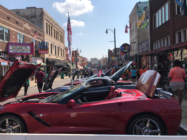 Hot Wheels On Beale Car Show In Memphis - Tupelo car show